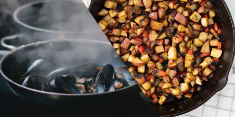 Difference Between Skillet and Sauté Pan