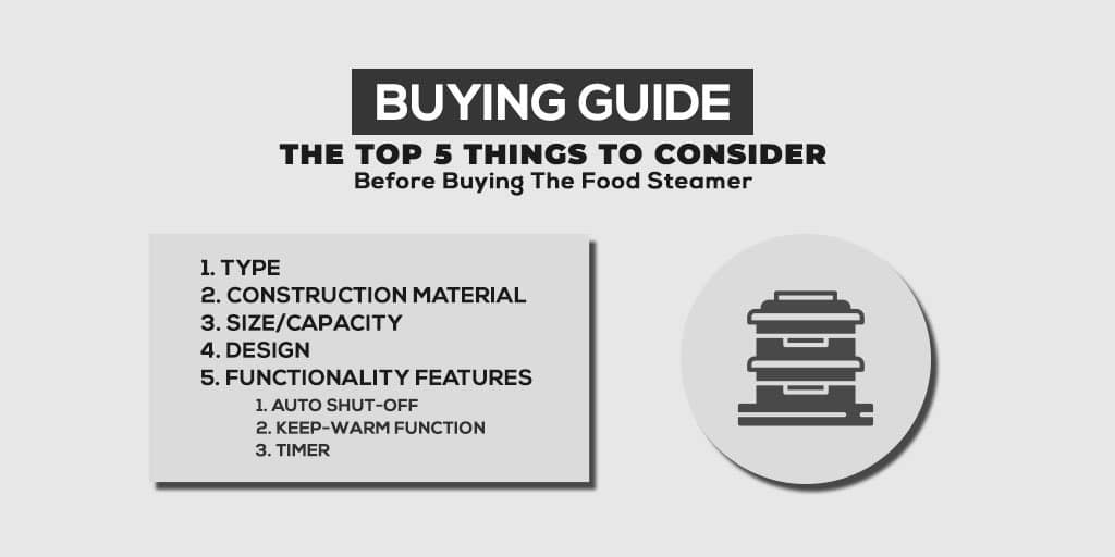 Buying Guide Of The Best BPA Free Food Steamer