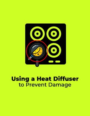 Using a Heat Diffuser to Prevent Damage