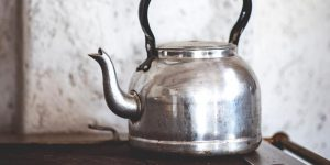How to Clean a Burnt Tea Kettle