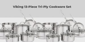 Viking 13-Piece Tri-Ply Cookware Set Review