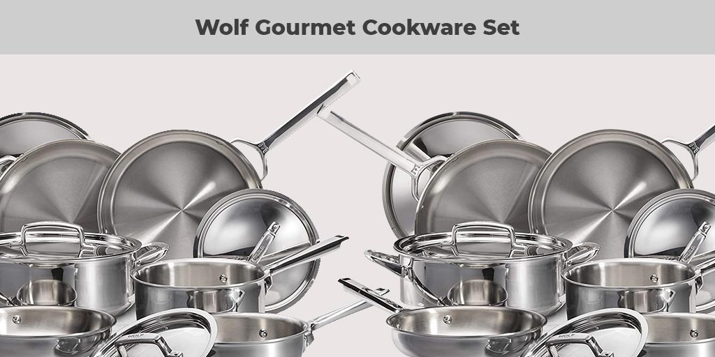 Wolf Gourmet 10 Piece Cookware Set Reviews