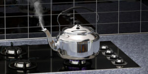 How to Use a Tea Kettle on the Stove